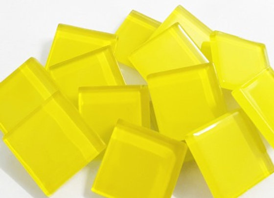 Crystal Tiles - (23x23mm) - Yellow