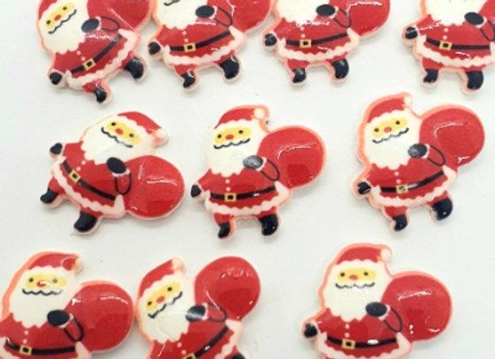 Christmas Jolly Santa's (K) x 10pc