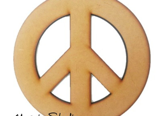Peace Sign - Med, Large