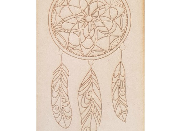 Engraved Dream Catcher - 460x280x9mm