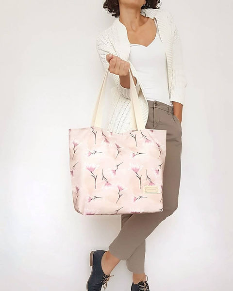 Tote bag Blumen. Shopper Liberty
