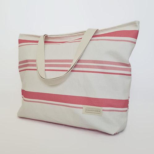 Strandtasche. Beach Bag Cala XL Coral