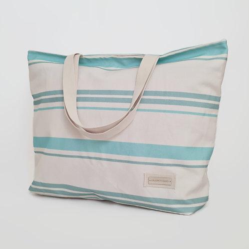 Strandtasche. Beach Bag Cala XL Acqua