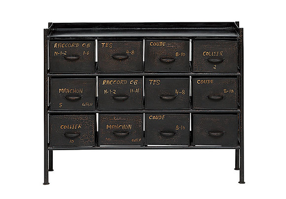 GUIDEL 12DRAWER CHEST WIDE