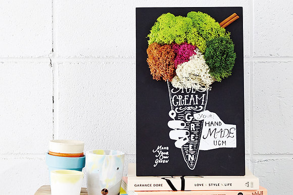 "GREEN ART KIT ""ICE CREAM"""