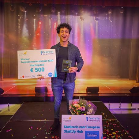 René Daatselaar Baarslag wint Topondernemersbokaal 2020