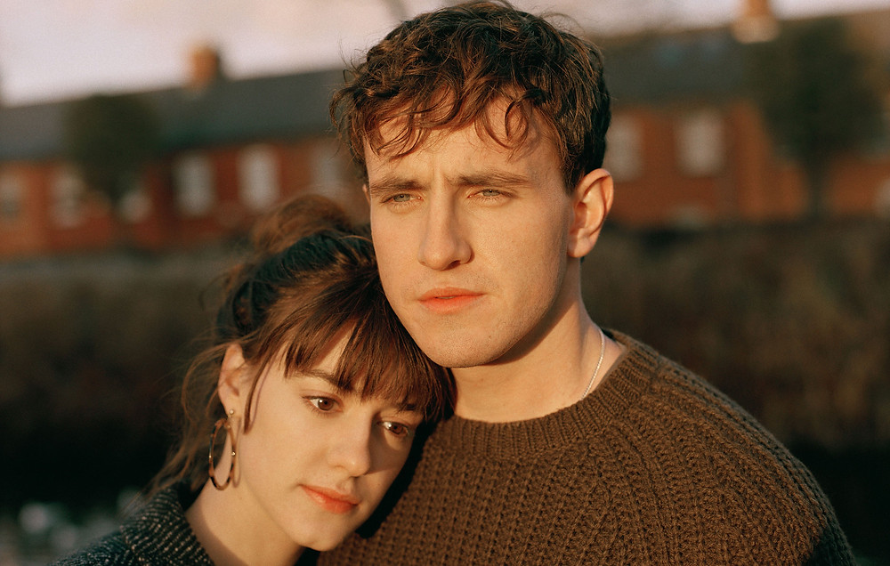 Paul Mescal as Connell and Daisy Edgar-Jones in 'Normal People' being unacceptably cute (Credit: BBC).