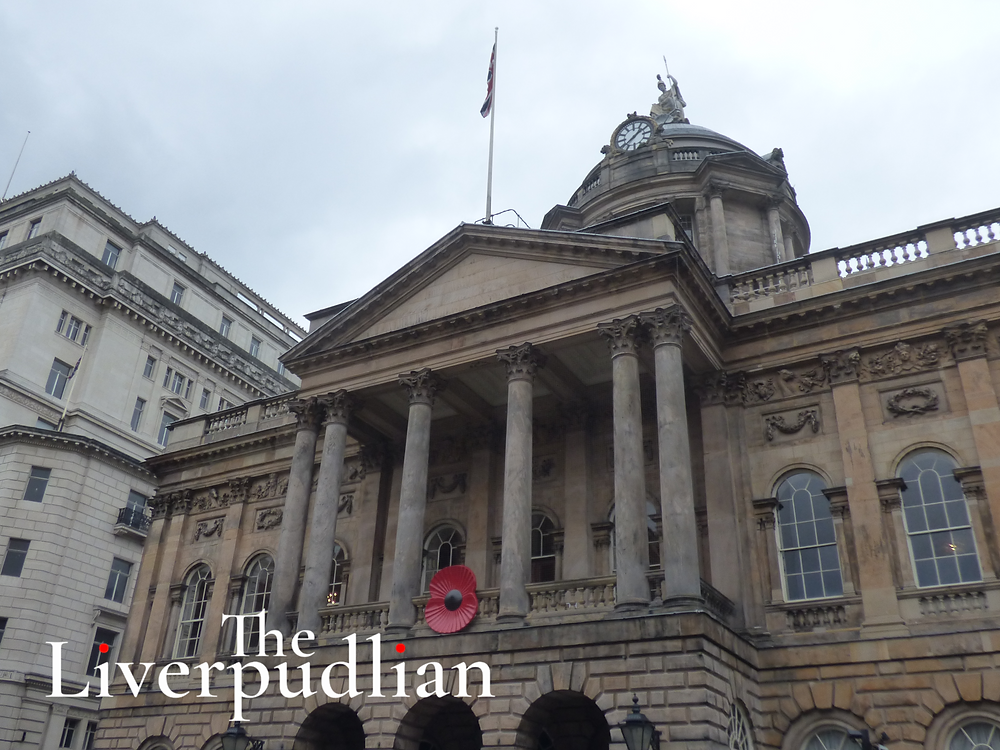 Liverpool Town Hall in the heart of the Seven Streets Quarter in Liverpool City Centre (Credit: The Liverpudlian/Peter Eric Lang).