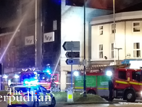 Images Of Large Fire At Former Picture House And Disused Night Club In Conway Street