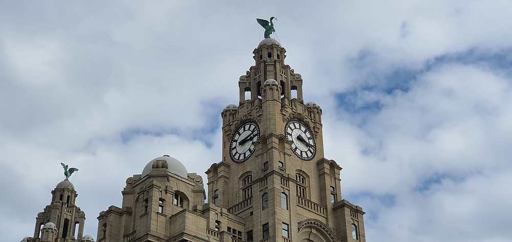 The Royal Liver Building, the icon of the Liverpool City Region (Credit: The Liverpudlian/ Peter Eric Lang).