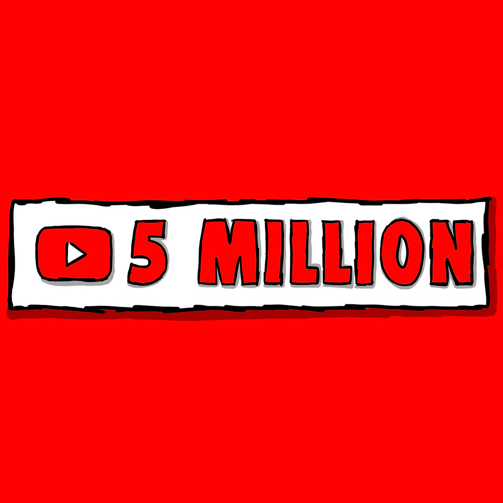 Liverpool FC reaching 5 Million Subscribers on their YouTube Channel (Credit: Peter Eric Lang).