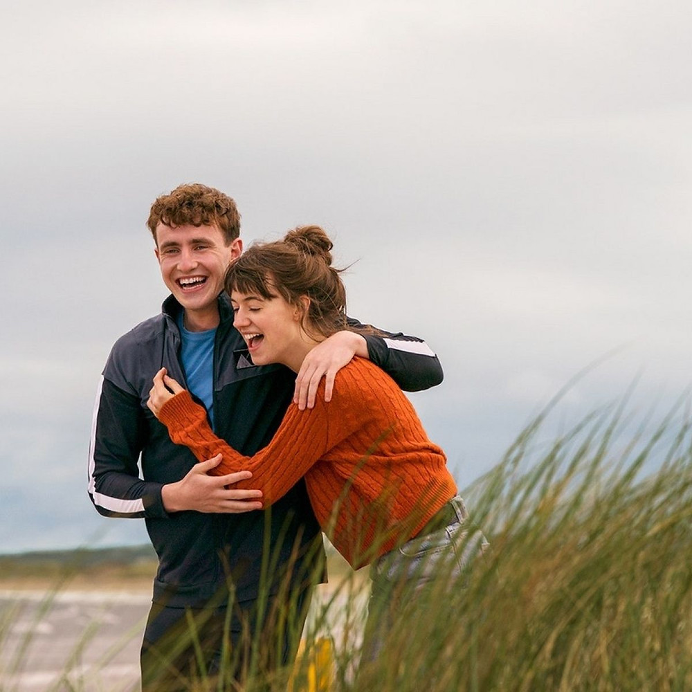 Paul Mescal as Connell and Daisy Edgar-Jones in 'Normal People' making everyone exceptionally jealous of their relationship (Credit: BBC).