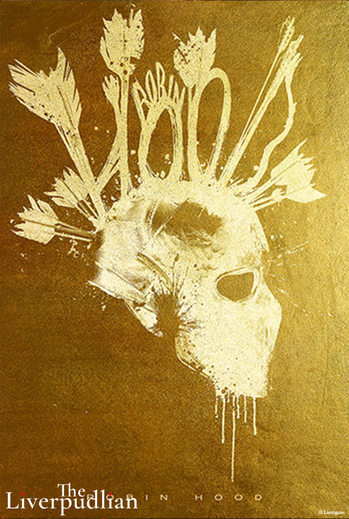 An illustrated poster of Taron Egerton's Robin Hood (Credit: Lionsgate).