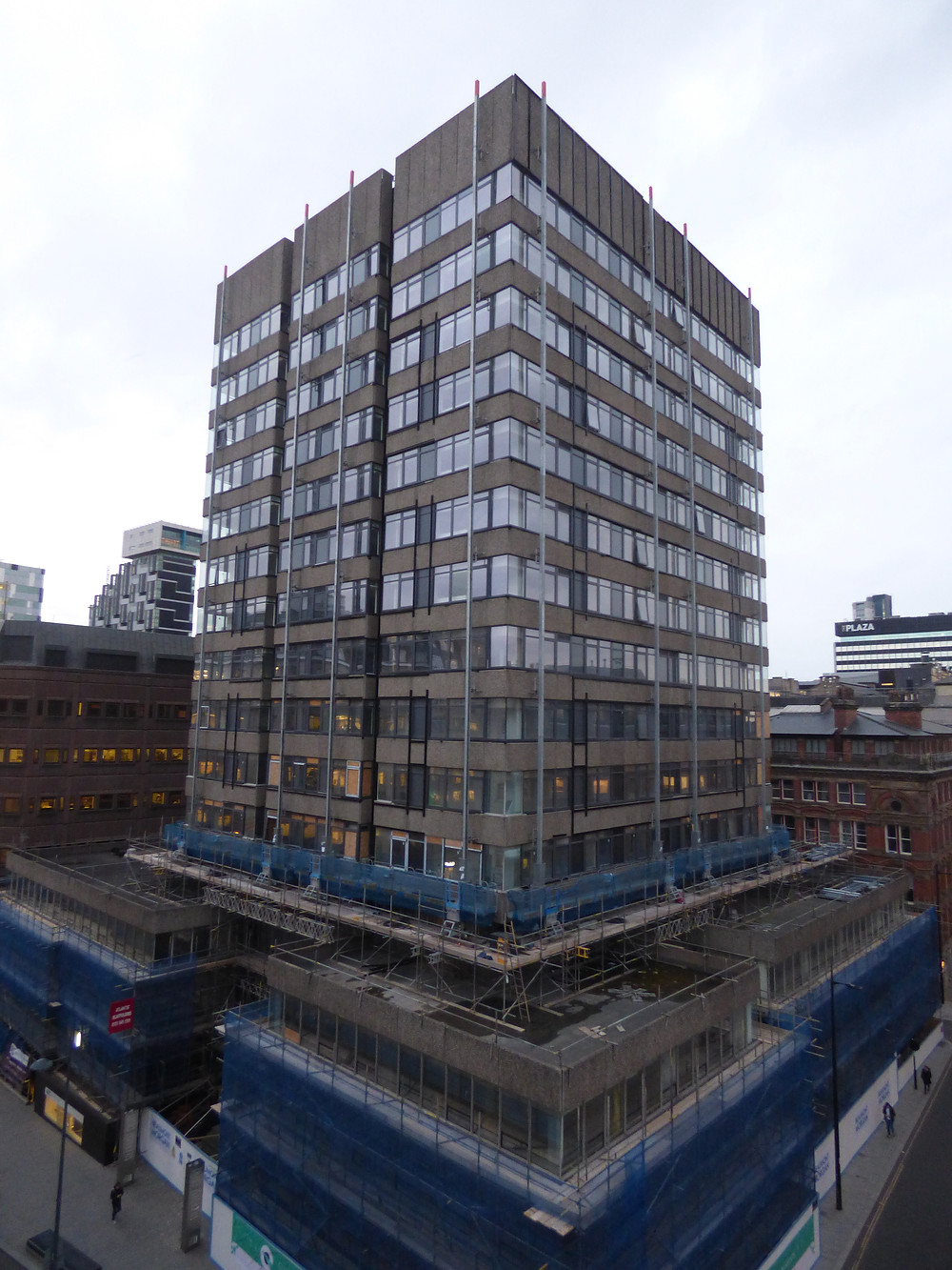 Silkhouse Court photographed from another high rise, the Tempest Building, in The Commercial District (Credit: The Liverpudlian/Peter Eric Lang).