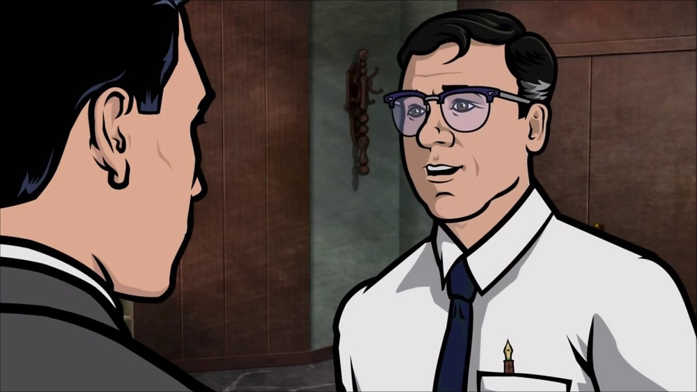 Chris Parnell as the voice of Cyril Figgis from the action-comedy hit Archer (Credit: FOX).