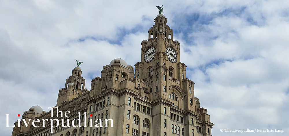 The Royal Liver Building In Liverpool City Centre's Waterfront District (Credit: The Liverpudlian/Peter Eric Lang).