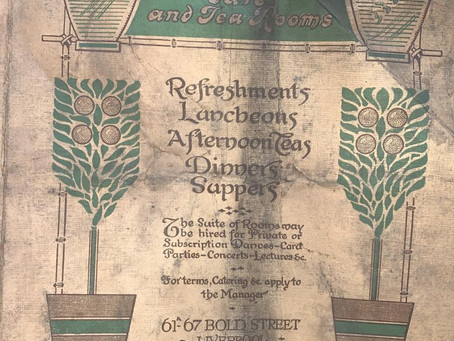 LEAF On Bold Street Make An Incredible Historic Discovery By Finding 100+ Year Old Menu In Its Walls