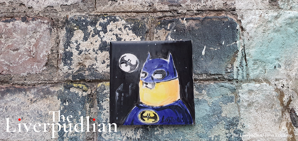 Batman inspired artwork by 'Lost Hills' in Liverpool's The Baltic Triangle (Credit: The Liverpudlian/Peter Eric Lang).