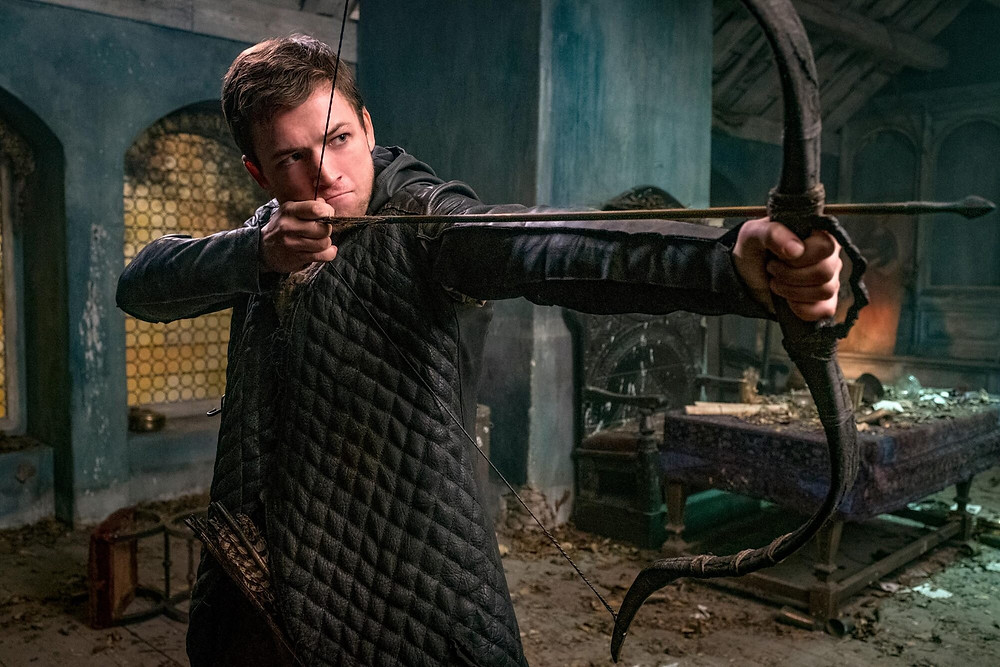 Taron Egerton as Robin Hood (Credit: Lionsgate).