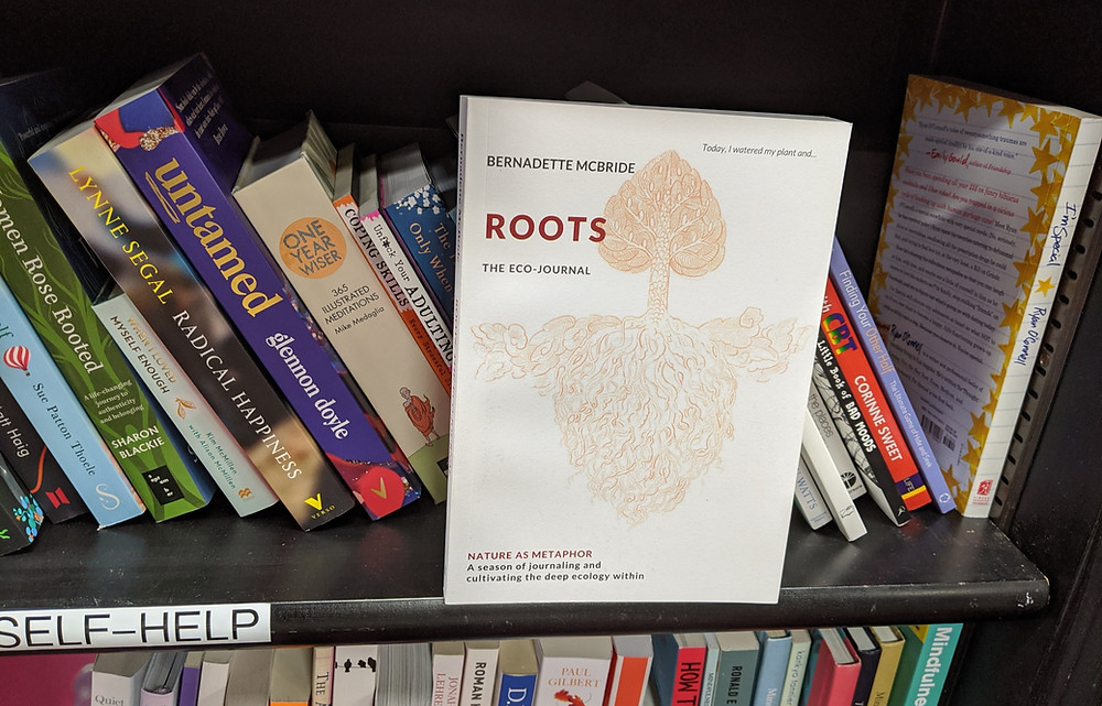 Roots: The Echo-Journal as seen in a library (Credit: Image Supplied by Bernadette McBride).