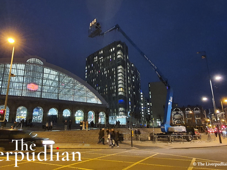Camera Crews Filming 'The Batman' In Liverpool | On-The-Ground Reporting By Peter Eric Lang