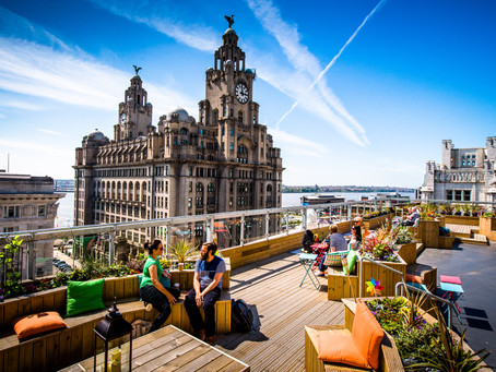 The Start Of A Sun-Kissed Summer In Liverpool