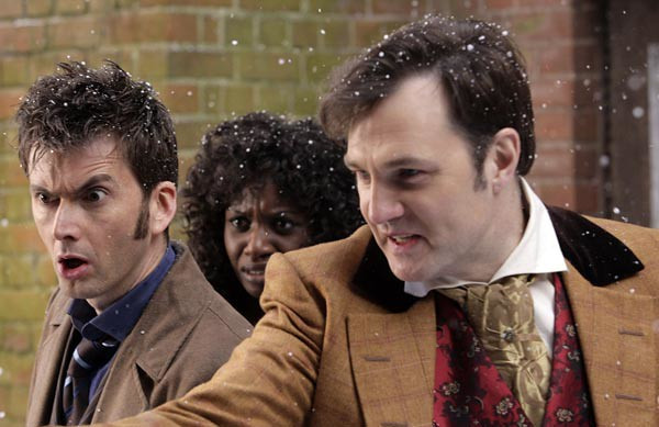 David Morrissey starring in an acclaimed episode of Doctor Who (Credit: BBC).