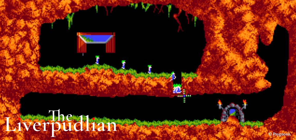 Lemmings was a smash hit in 1991 and published by Liverpool's Psygnosis, the company then developed the ports for multiple consoles (Credit: Psygnosis).