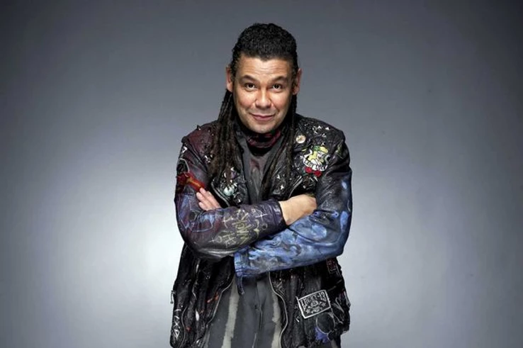 Craig Charles as seen in Red Dwarf (Credit: BBC).