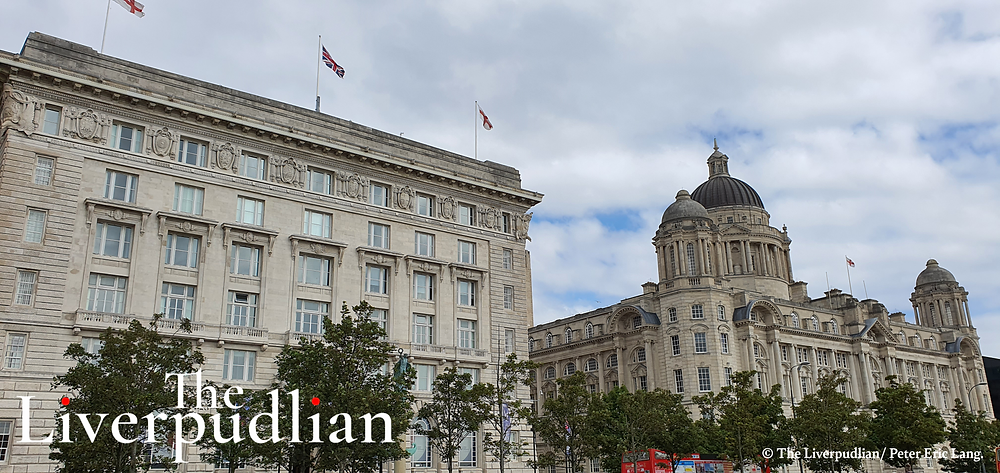 The Cunard Building and the Port of Liverpool Building in The Waterfront District (Credit: The Liverpudlian/Petert Eric Lang).
