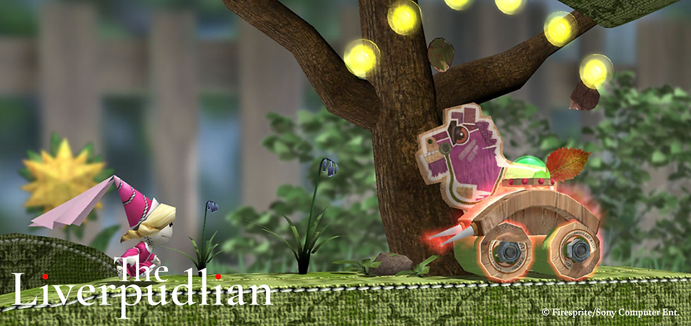 A handheld re-imagining of a classic PlayStation franchise, LittleBigPlanet (Credit: Firesprite/Sony Computer Entertainment).