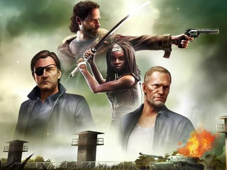 Walking Dead Video Game Features David Morrissey's The Governor From The TV Series