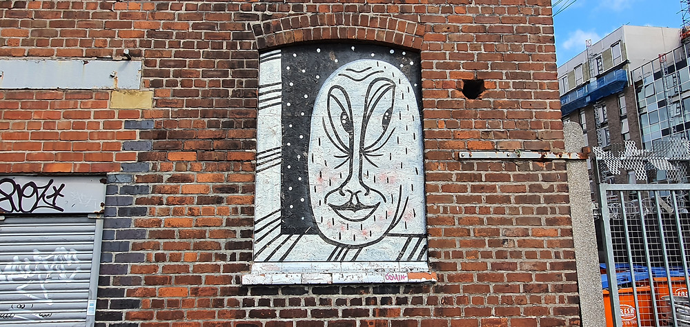 Street Art on Flint Street in The Baltic Triangle, Liverpool City Centre (Credit: Peter Eric Lang).