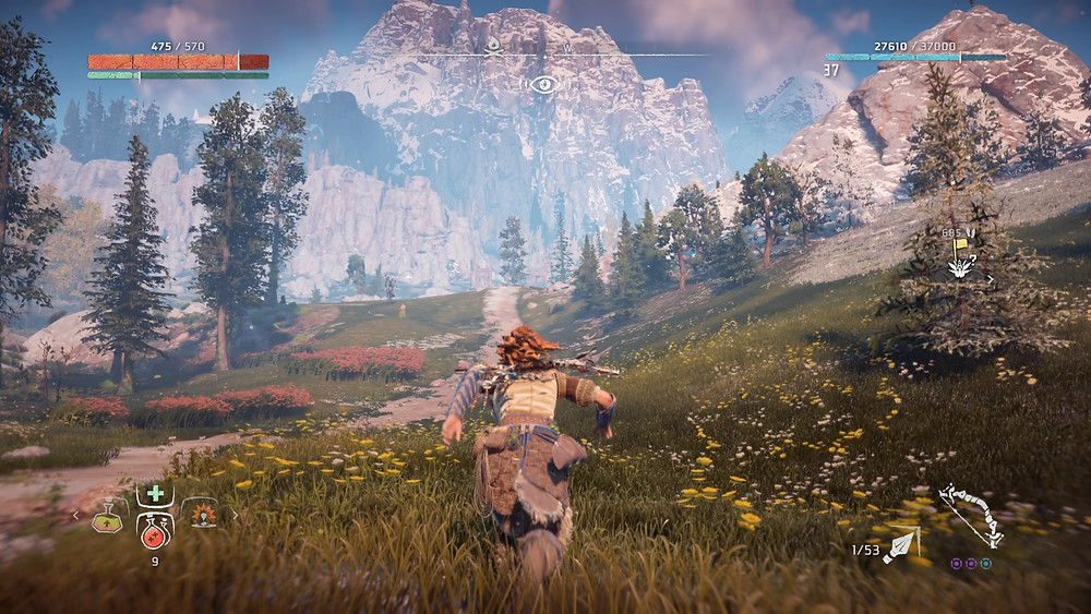 The world of Horizon is so breathtaking it will likely make your eyes water (Credit: Sony Interactive Entertainment).