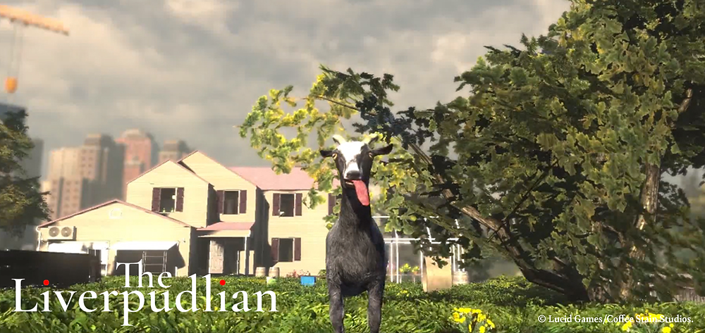 Goat Simulator made headline's for its unique approach to gaming (Credit: Lucid Games/Coffee Stain Studios).
