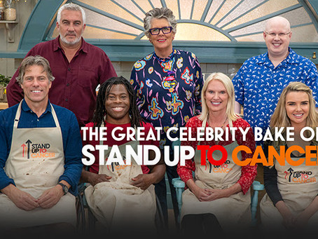 The Great Celebrity Bake Off for SU2C Stars John Bishop Tonigh At 8pm