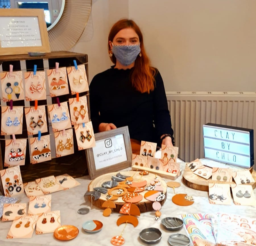 Clay By Chlo hosting a stall in LEAF West Kirby, located in the Liverpool City Region's Borough of Wirral (Credit: Image Supplied by The LEAF Group).