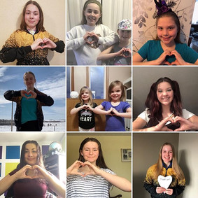 Our students are sending ❤️ to everyone