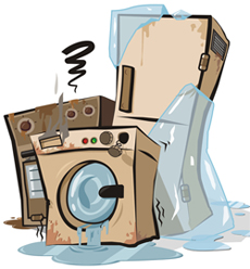 broken appliances