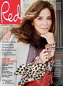 Digital Magazine Cover - Red