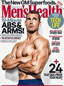 Digital Magazine Cover - Men's Health