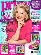 Digital Magazine Cover - Prima