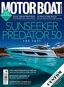 Digital Magazine Cover - Motor Boat