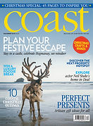 Digital Magazine Cover - Coast