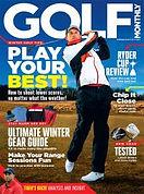 Digital Magazine Cover - Golf