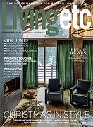 Digital Magazine Cover - Living Etc