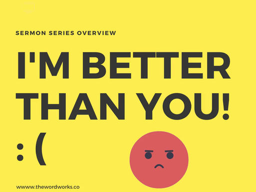 I'm better than you!