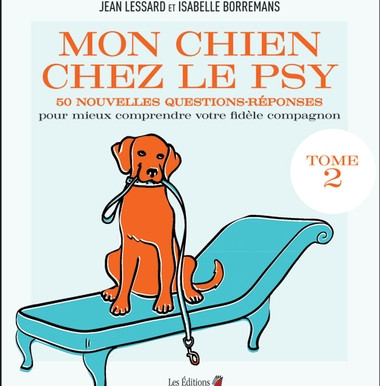Le coin lecture - Mon chien chez le psy, tome 2