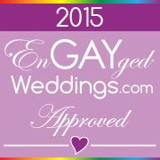 EnGAYged Weddings Approved Vendor 2015