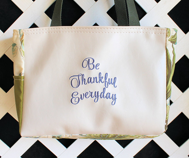 Be Thankful Everyday Tote